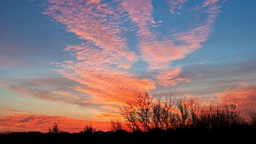 sunset little elm sunset