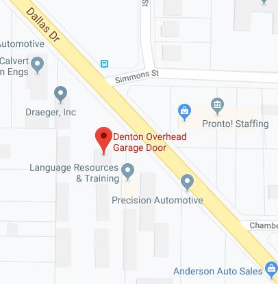 Denton Overhead Garage Door Garage Door Repair Denton