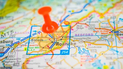 roanoke map